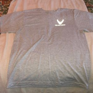 Air Force PT T Shirt Size Large